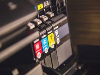 Industrial sticker printer