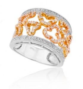 טבעת תלתן מהבורסה לתכשיטים ב 9,650 ₪